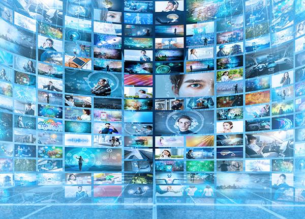 様々なデジタルサイネージコンテンツ